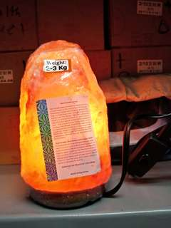 Authentic Himalayan Salt Lamp from Pakistan