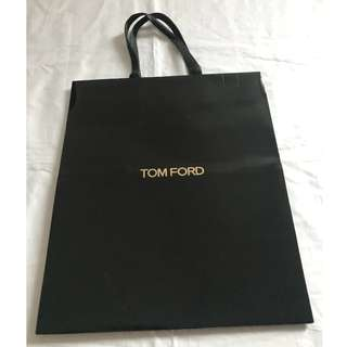 Tom Ford small size shopping bag 名牌購物紙袋
