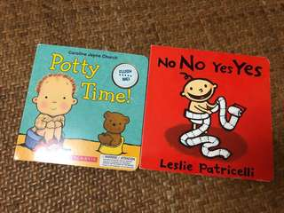 Baby Books Nono yes yes & potty time