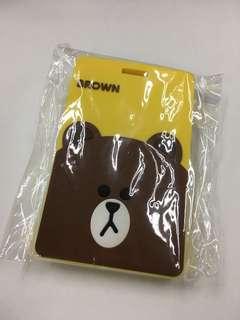 [包平郵]Line Friends brown 布朗熊 職員卡套 八達通套