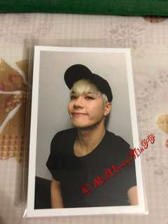 GOT7 Jackson Official Photocard (Flight Log Departure)