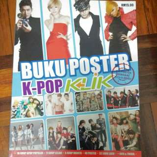 ⭐️Kpop Korean Poster Book