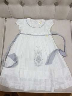 Trudy & Teddy White Dress