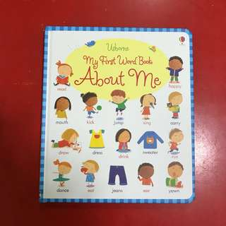 Usborne - My First Word Book (ABOUT ME)