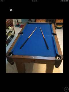 6ft Pool Table w/table TOP