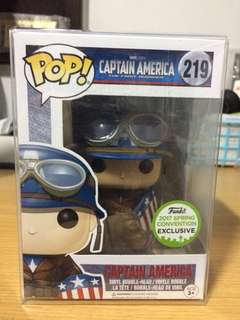 Funko Pop! The First Avenger: Captain America - WWII (SC Exclusive)