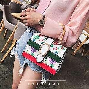 HOT NEW ARRIVALS Handbag Mini Gucci Dionysus Flower Hand Bag Fashion Wanita Cewek Impor Code 1360