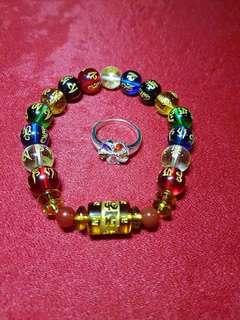 Original Mantra Charm Bracelet