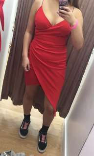 Red Formal Dress - Size 10