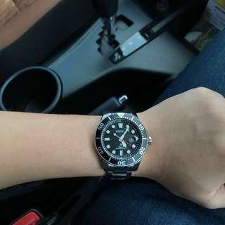 Jam Tangan Pria Seiko Prospex Solar SNE437P1 Strap Stainless Steel Silver 200M Dive Men's Watch
