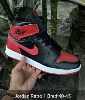 AIR JORDAN RETRI 1 BRED