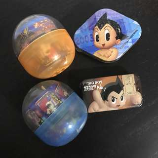 Astroboy miniature boxes