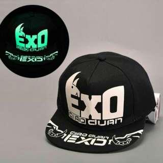 🚚 EXO 螢光板帽