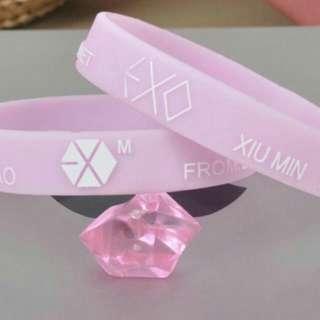 🚚 EXO 橡膠手環