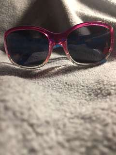 Pink and White Ombré Sunglasses