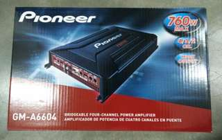 PIONEER GM-A6604 FOUR CHANNEL AMP
