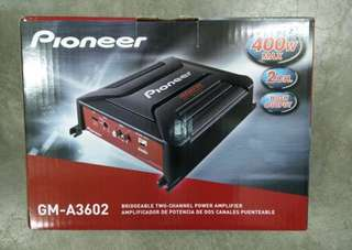 PIONEER GM-A3602 TWO CHANNEL AMP