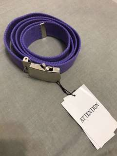 🚚 日本購入全新紫色腰帶