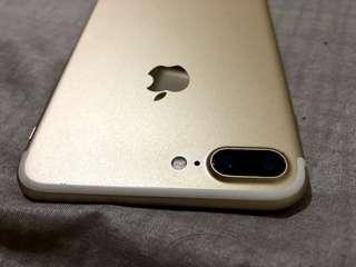 Iphone 7 plus - 128gb gold 金色