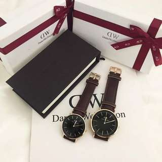 Daniel wellington watchs for men and women