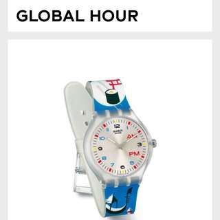 Global hour swatch