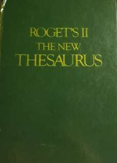 Roget's II - The New Thesaurus