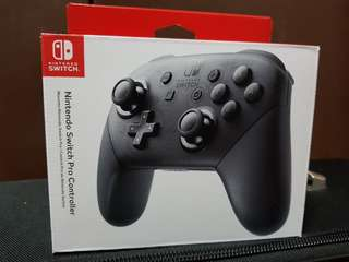 S> Brand New Nintendo Switch Pro Controller