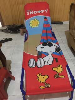 Peanuts Snoopy Beach Lounge Chair