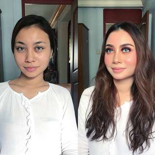 Make over For All events ..Hari Raya 18 Promotions