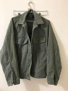 🚚 日系軍綠夾克外套