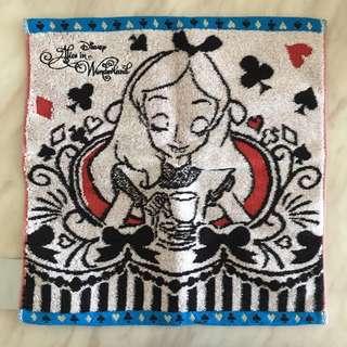 (包郵) *全新* Disney Store Alice 愛麗絲 毛巾