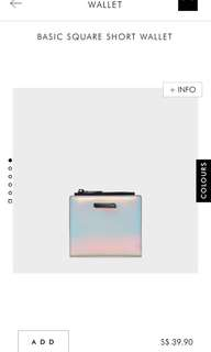 Charles & Keith Multi-Color Basic Square Wallet