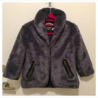 (Size XS) - Tommy Hilfiger Denim - Faux Fur COAT (( REDUCED FIRM ))