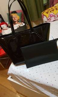Authentic kendall + kylie tote bag with big pouch