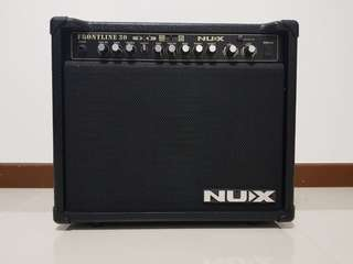 NUX Frontline 30 Watts amplifier.  1 mrh old. Perfect condition. Tried twice as i have another same set.