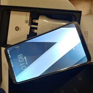 全新 韓國製造 靚聲之選 100% new LG V30+ Thin Q 香港行机 B & O 全新耳筒 有單保養至24/2/2019 銀色 4GB 128GB Rom Android 8.0 最新 全新配件