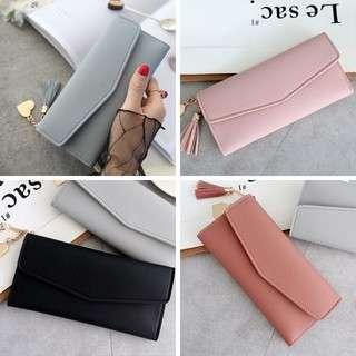 Tassle Long Wallet