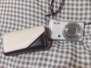 🚚 CASIO ZR5000 自拍美顏神器 (白色)