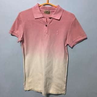 Herbench Pink Ombre Polo Shirt