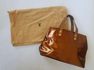 REPRICED!!!Original Louis Vuitton Vernis Reade PM in Bronze