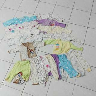 Sleepwear / pajamas 10set for rm50