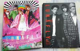 LUNAFLY Albums [Fly To Love Vol.1] & [1st Mini Album]