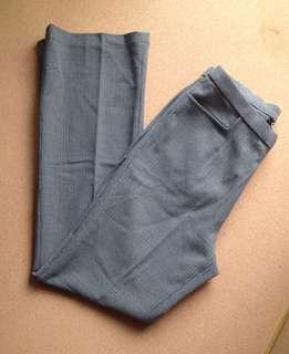 Greyish green slacks