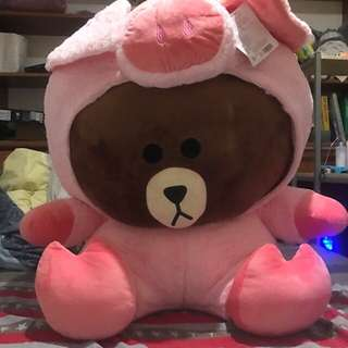 🚚 布朗熊超大隻