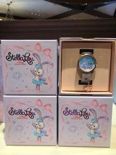 StellaLou 手錶 連盒和吊墜 Disney 迪士尼