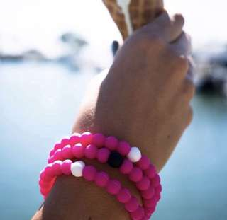 Limited Edition Pink Lokai Materials from Mt. Everest