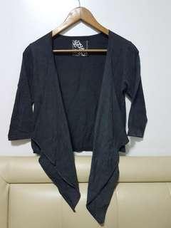 Herbench 3/4 sleeves Drape Blazer