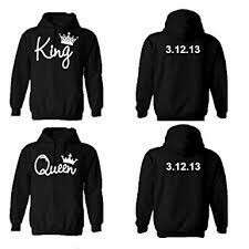 King Crown Queen Crown Sweater Unisex Design Tee T-Shirt Shirt