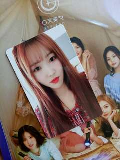 [WTT] GFRIEND YUJU OFFICIAL PHOTOCARD TIME FOR THE MOON NIGHT