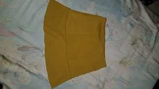 H&M Neon Green Skirt